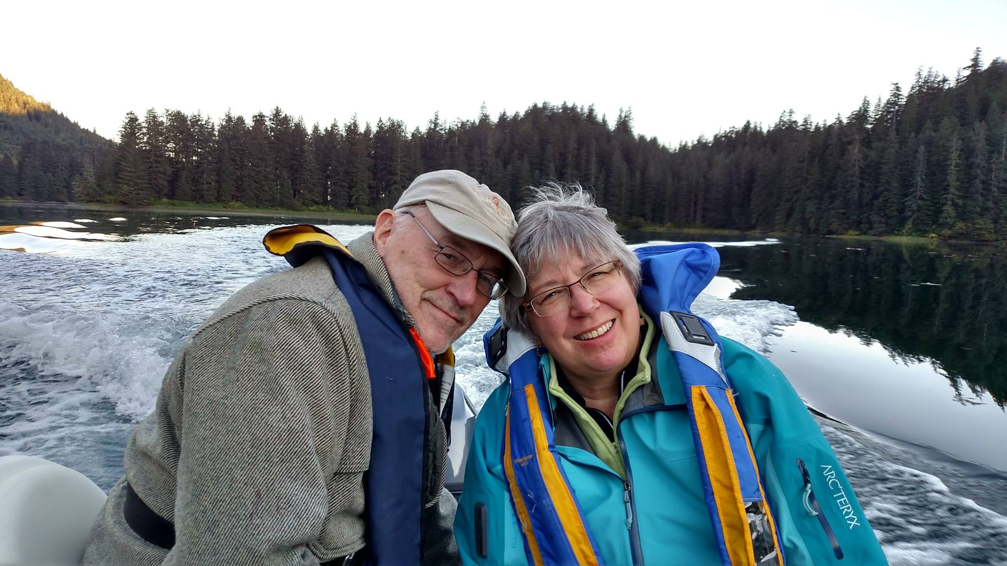 2016DC Karen and CB on the Skiff
