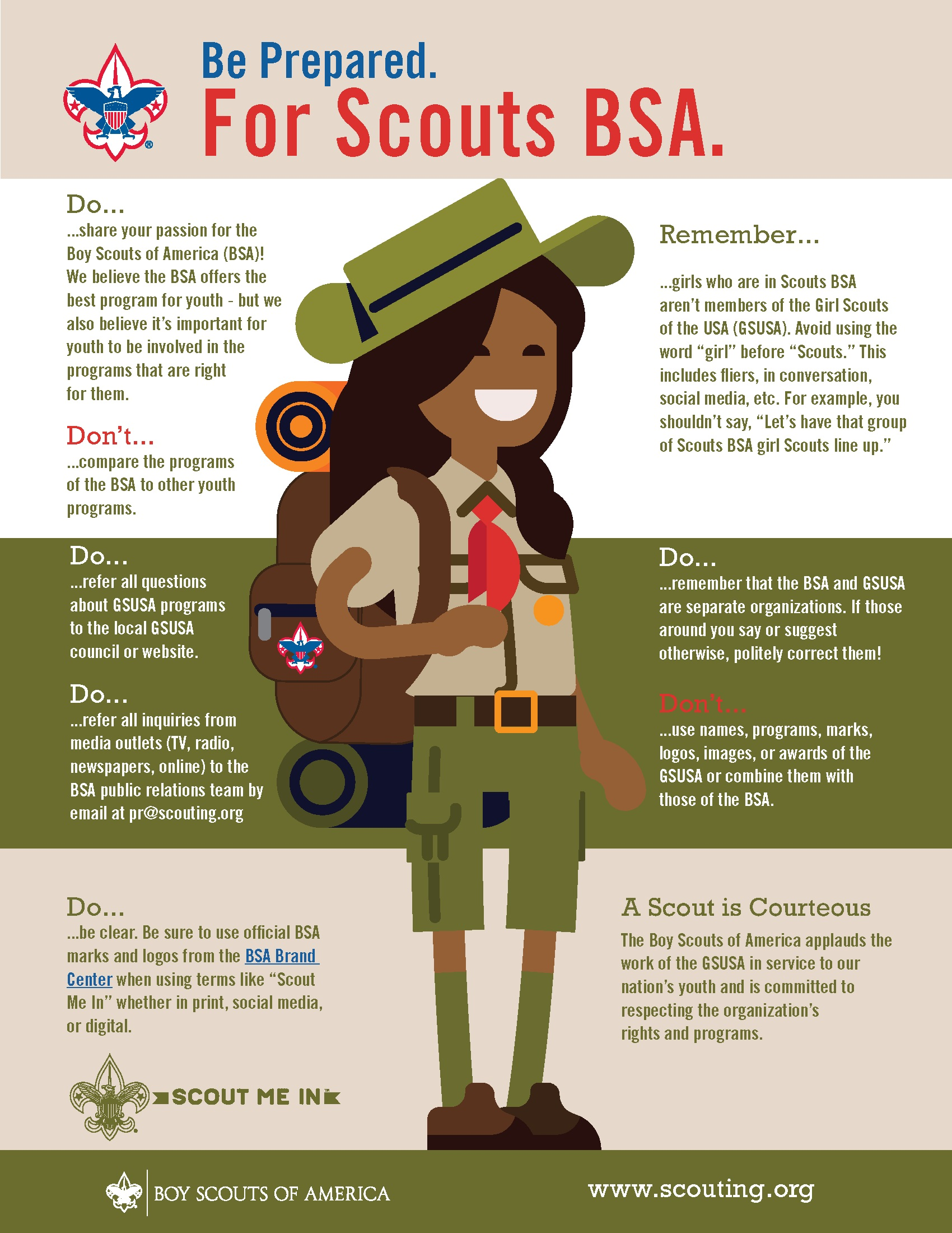 Scouts BSA Branding Dos and Donts