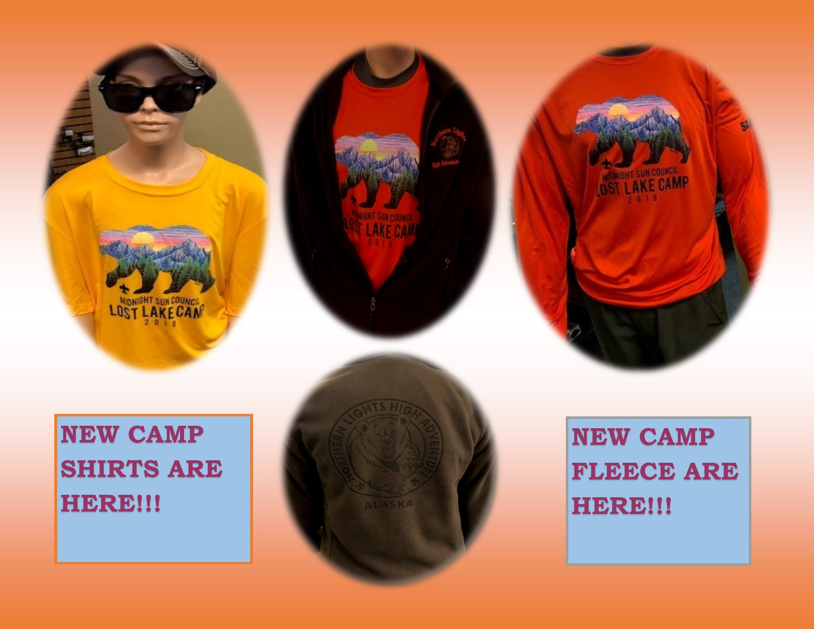 New Camp Shirts