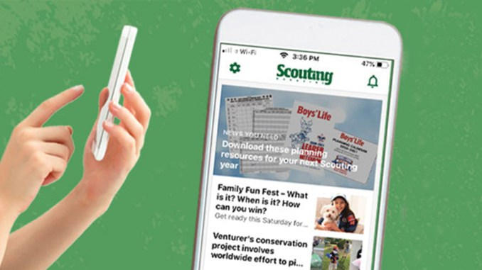 Scouting Magazine Update
